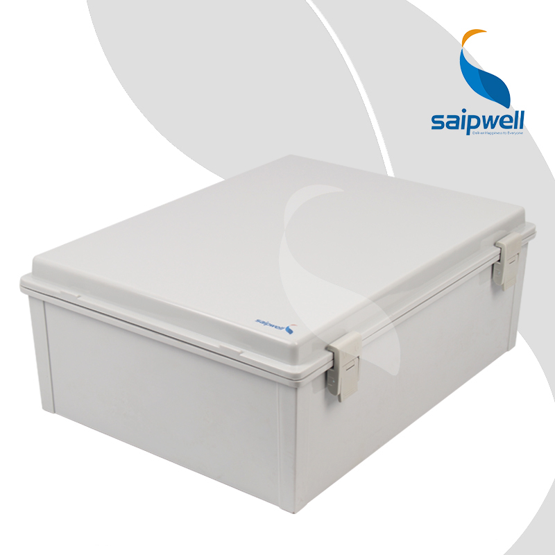 370*480*180mm ABS Waterproof Connection Box with Plastic Draw Latches / Hinge Type Enclosure SP-MG-374818 цены
