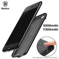 Baseus Battery Charger Case For IPhone 6s 5500mAh Backup Power Bank For IPhone 6 6s Plus