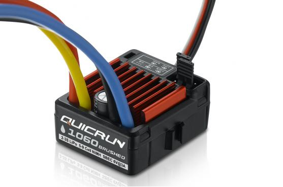 Image 4 - HobbyWing QuicRun 1080 80A 860 60A 1060 60A Brushed Electronic Speed Controller ESC For RC Car Waterproof-in Parts & Accessories from Toys & Hobbies