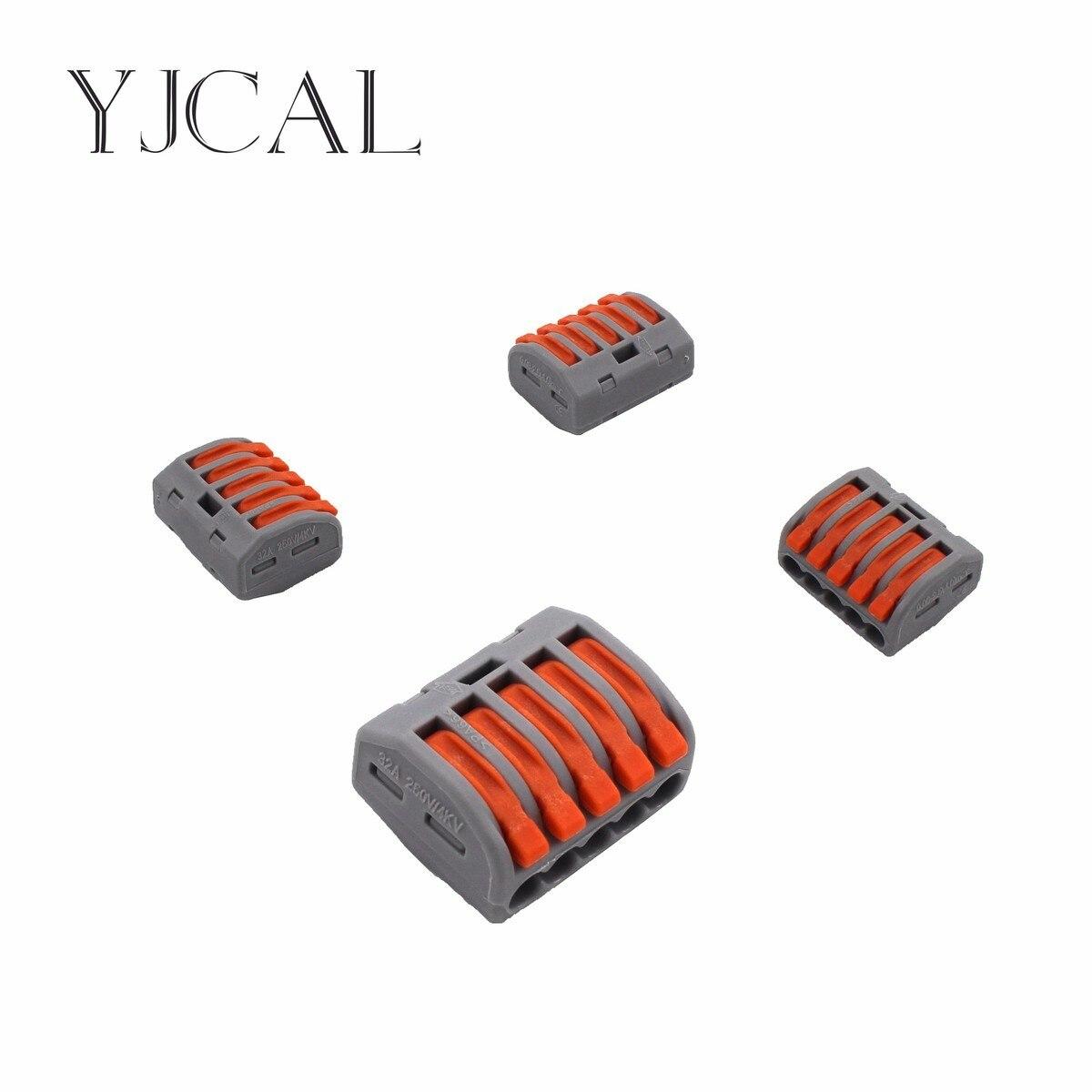 Wago Typ 222-415 20 STÜCKE Universal Compact Verdrahtung Conector ...