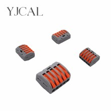 Wago Type 222-415 20PCS Universal Compact Wiring Conector Terminal Block Connectors Terminator Wire Connector AWG 28-12
