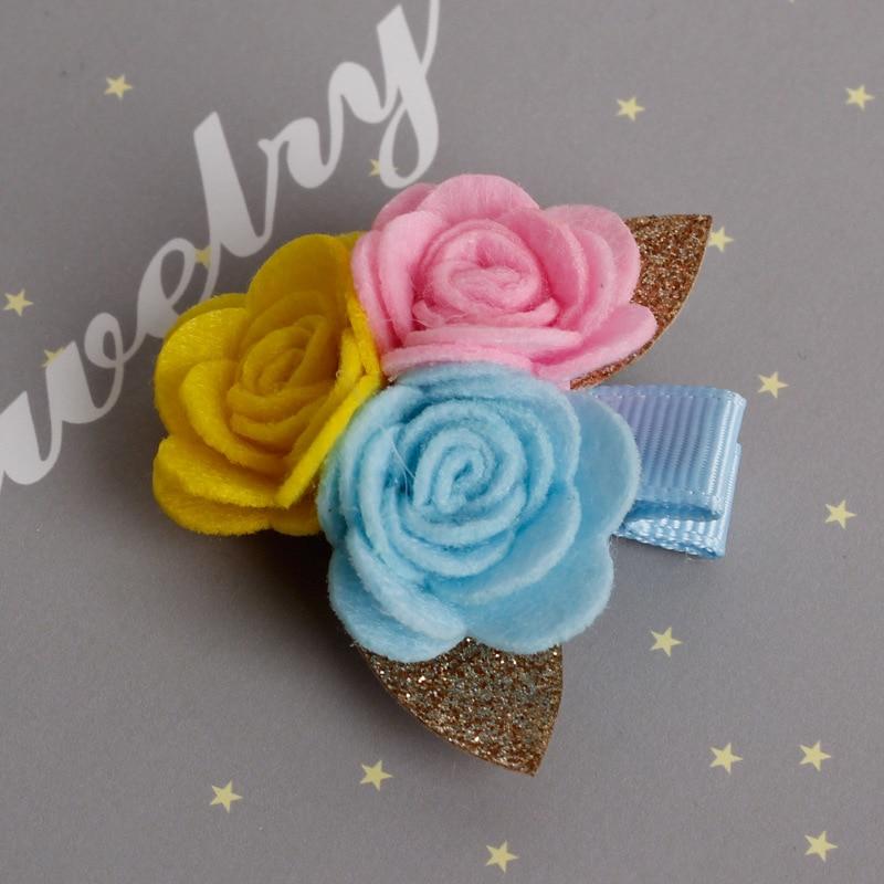 Baru Camellia Bunga Jepit Rambut Lucu Kartun Jepit Rambut untuk Gadis - Aksesori pakaian - Foto 4