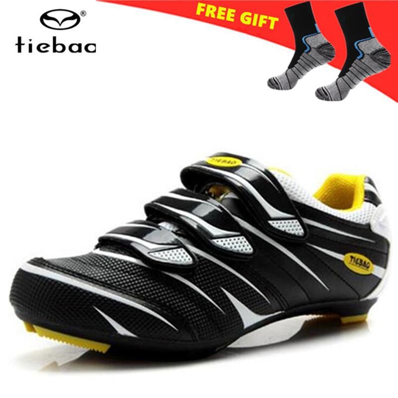 TIEBAO Road Cycling Shoes zapatillas deportivas mujer 2018 Cycling Equipment Self-locking Ride Shoes Self-Locking Sneakers Men
