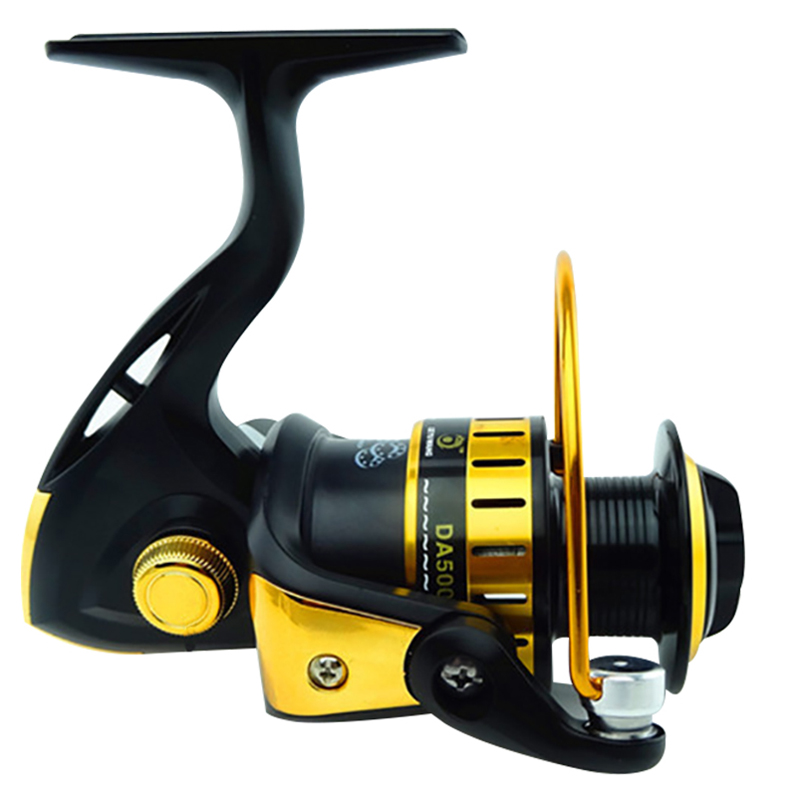 Speed Ratio 4 71 1 5 5 1 Spinning Fishing Reel 1000 7000 Spinning Reel Carp Fishing Reels Left and Right Interchangeable Handles in Fishing Reels from Sports Entertainment