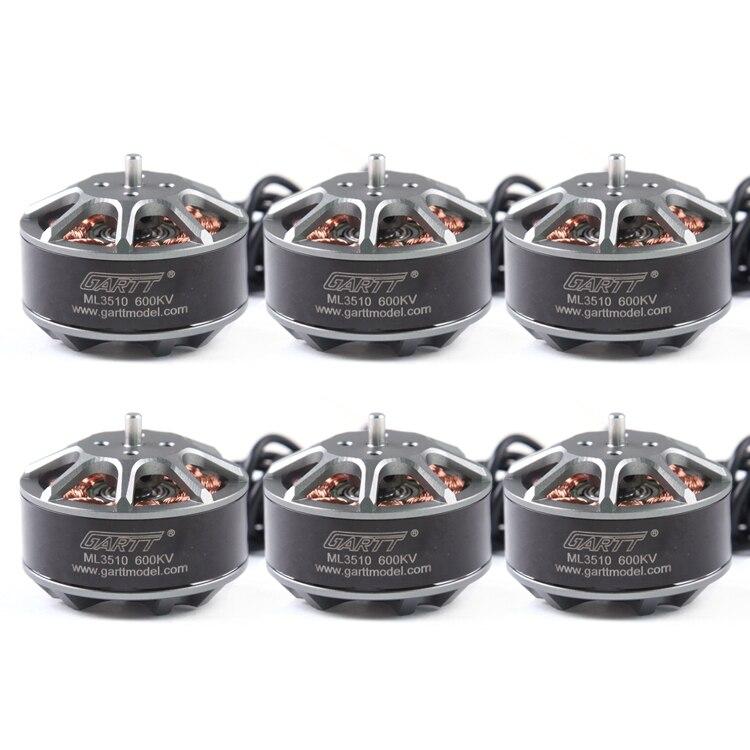 6 PCS GH ML 3510 600KV Brushless font b RC b font Motor For Multicopter Quadcopter