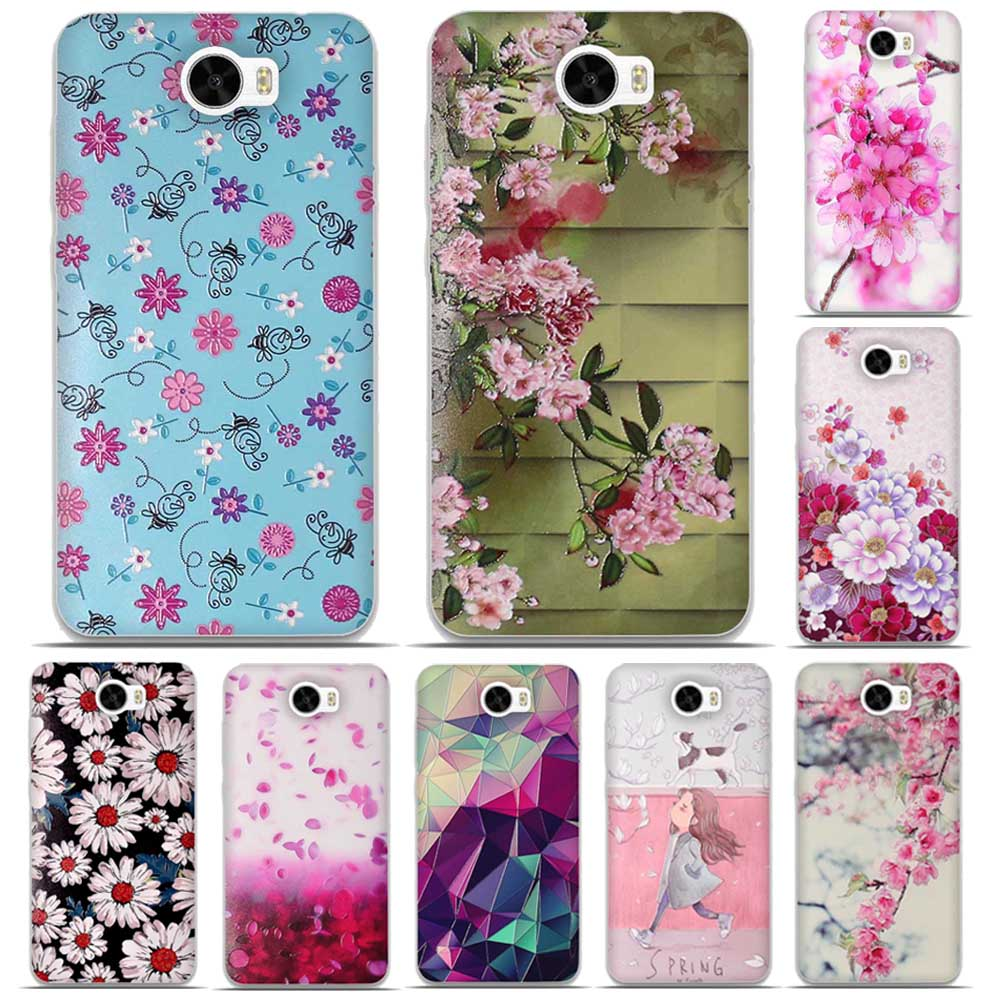 online store 3ff01 d54a7 3D Skin Painted Soft TPU Phone Case for Huawei Y5 II Y5 2 Silicon Cases  Cover Shell for Huawei Y5 II Protective Back Cover Bag-in Fitted Cases from  ...