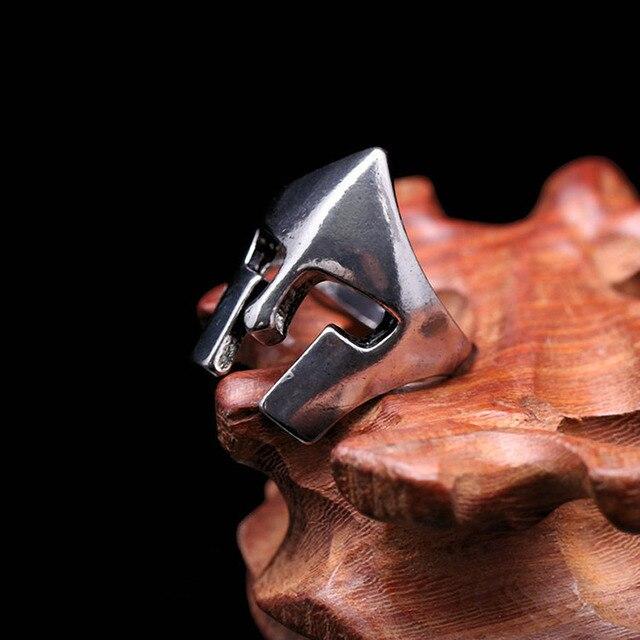Bague Viking casque Halka 3