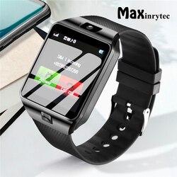 Maxinrytec DZ09 Smartwatch Bluetooth Relógio Inteligente Android Phone Call 2 Relogio G Câmera Cartão SIM GSM para iPhone Samsung PK GT08 A1
