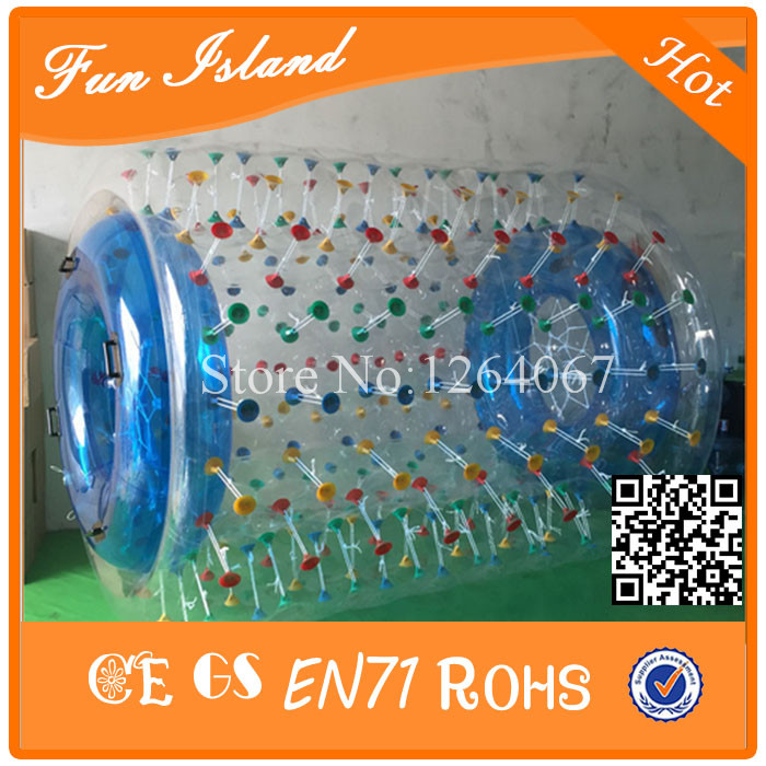 Free Shipping 2.6x2.4x1.8m Water Roller Ball,Popular Inflatable Water Walking Roller Ball Free a Pump free shipping inflatable water walking ball water rolling ball water balloon zorb ball inflatable human hamster plastic ball