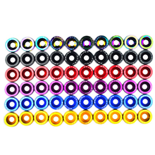 20PCS M6 JDM Car Modified Hex Fasteners Fender Washer Bumper Engine Concave Screws License Plate Bolts Car-styling