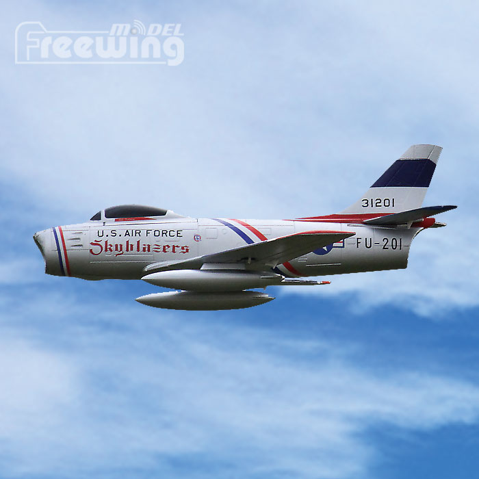 64mm EDF F-86 Sabre RC Airplane EDF Fighting EPO RC Fixed Wing Airplane PNP/ARF/KIT Wingspan 700mm