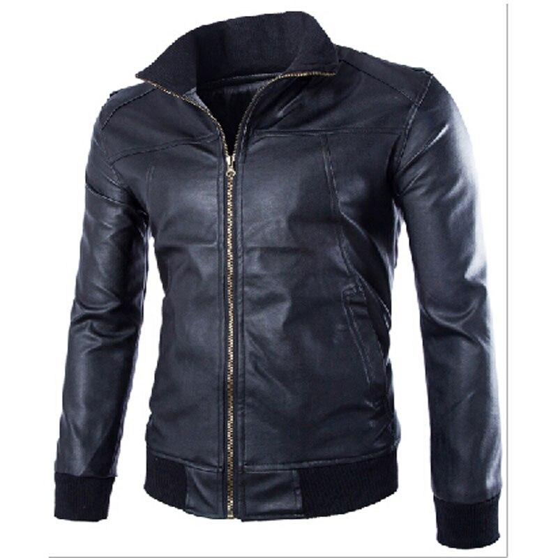 New 2016 Foreign Trade Leisure font b Leather b font font b Jacket b font Fashion