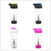 600 ml automatización eléctrica protein Shaker Blender mi botella de agua movimiento automático tour al aire libre leche de café mezclador inteligente