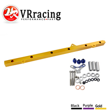 VR RACING – NEW FUEL RIAL FOR TOYOTA SUPRA ARISTO 2JZ TURBO JZA80 UPGRADE 92-02 RACING FUEL RAIL KIT VR5433