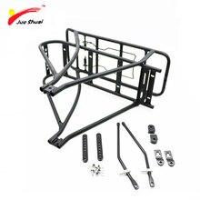 Portaequipajes para bicicleta, maletero de carga para bicicleta, doble capa, ajustable, batería de bicicleta, portaequipajes aksesuar