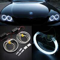 Mayitr 1 шт. 4 шт. CCFL COB светодиодный Ангел глаз супер яркие кольцевые светодиодные огни гало лампы Набор для BMW E36 E38 E39 E46 светодиодный фонарь для а...