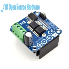 Double BTS7960 43A H-bridge High-power Motor Driver module/ diy smart car Current diagnostic