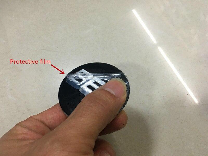 Free shipping 4pcs lot 56mm 2 2 Aluminium B B S Wheel Center Hub Cap Emblem