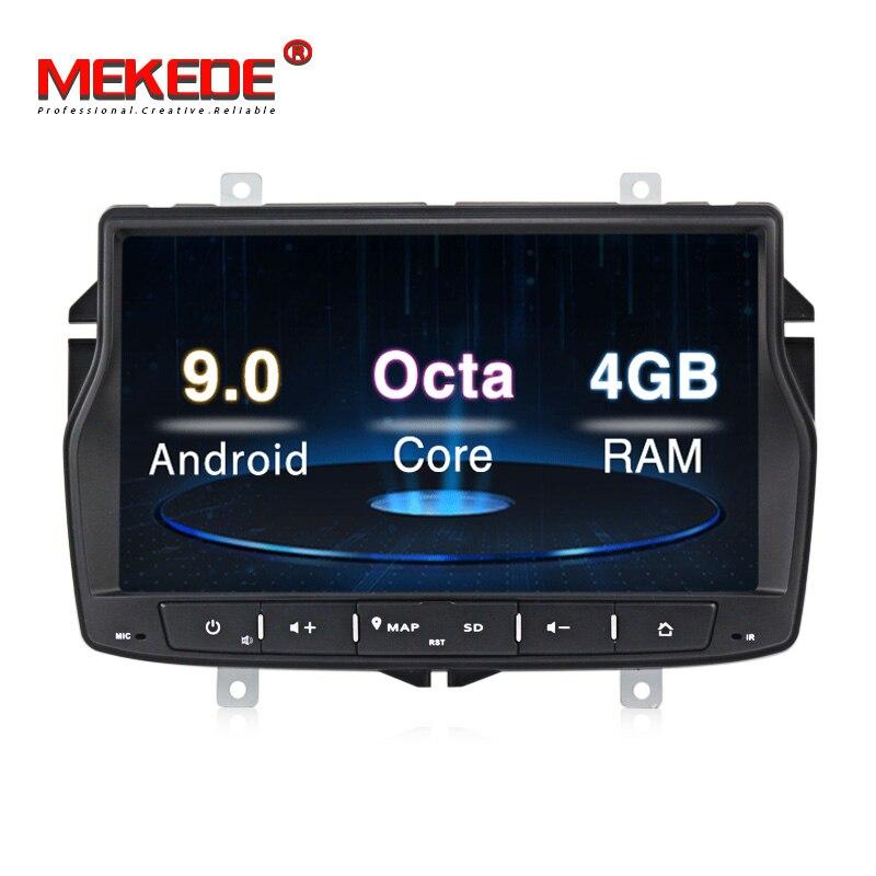 Russian menu free shipping 4G RAM 1din car radio multimedia DVD player for Lada vesta Android