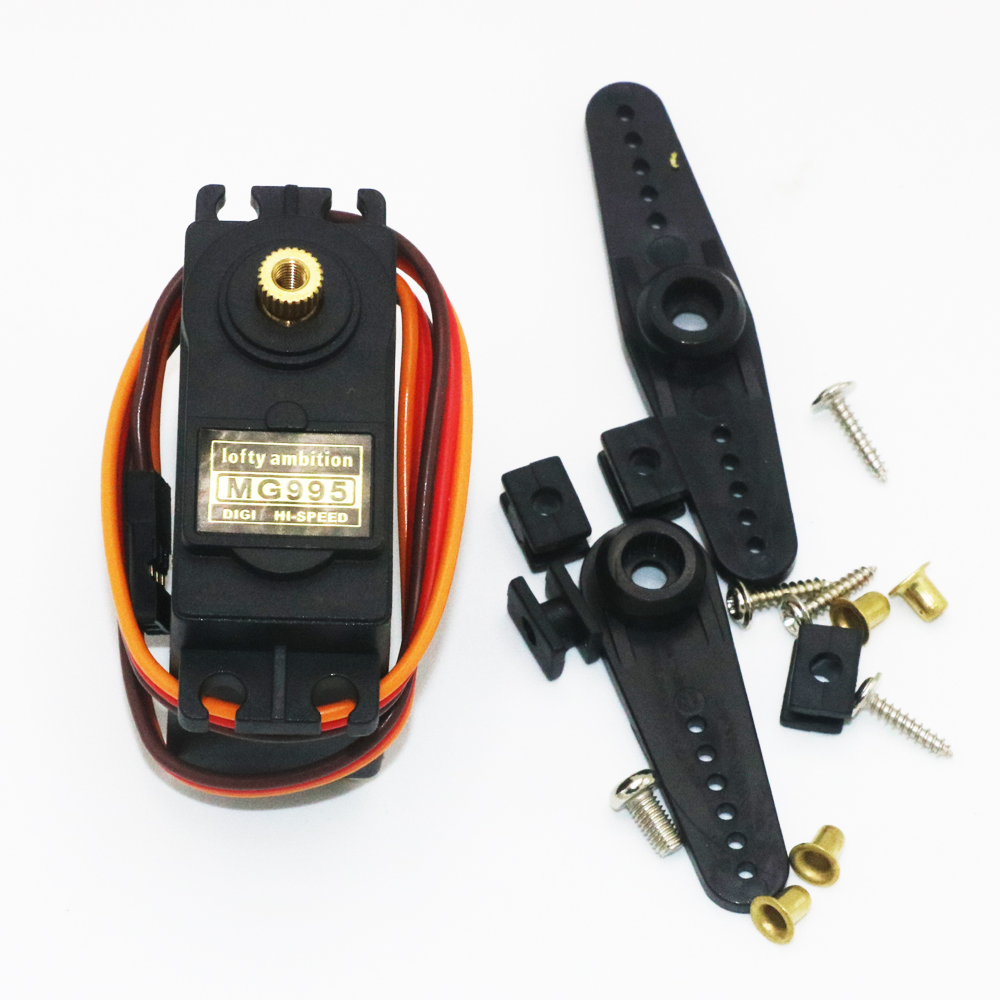 цена 1pcs lofty ambition Servo MG995 Metal Gear High Torque Servo For HPI XL Helicopter/Car/Boat
