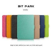 Бит парк тонкий PU кожа Защитный чехол для Kindle Paperwhite 1/2/3 Kindle защитный чехол рукавом
