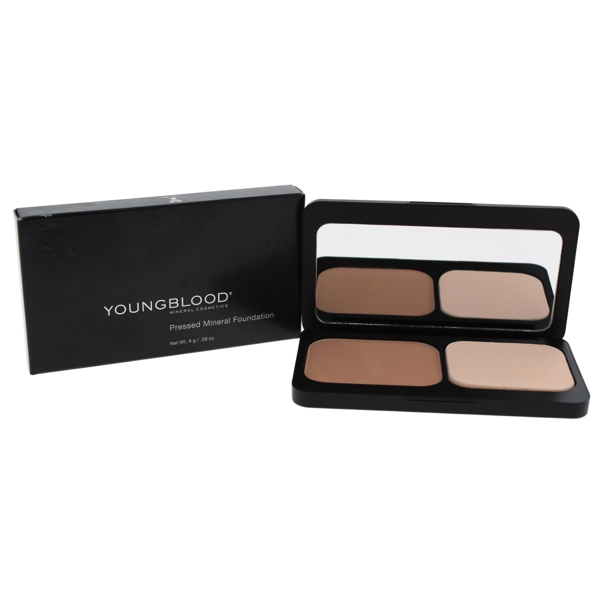 Youngblood W-C-11950 0.28 oz Pressed Mineral Foundation for Women Rose Beige 02 beige rose