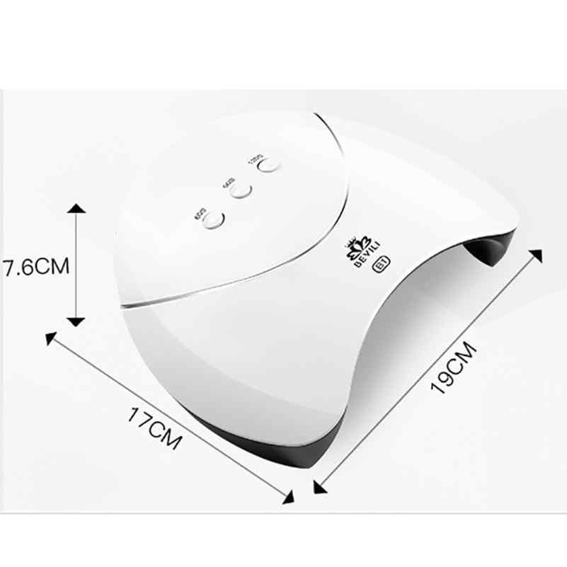 Светодиодный УФ-светильник 36 Вт USB СВЕТОДИОДНЫЙ УФ-гель для ногтей лампа для отверждения гель-лака Сушилка для ногтей машина для дизайна ногтей Горячая Прямая поставка 18jul20