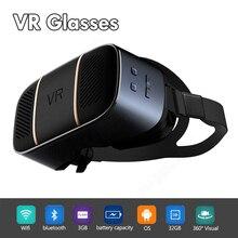 V3 2K экран 2560*1440 HDMI все в одном WiFi 3D виртуальной реальности VR очки гарнитура HDMI для кино игры