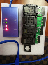 مقبس اختبار عالمي EMMC153/169 eMCP162/186/221/529 دعم العديد من رقائق eMMC emcp المختلفة استعادة بيانات الهاتف أندرويد