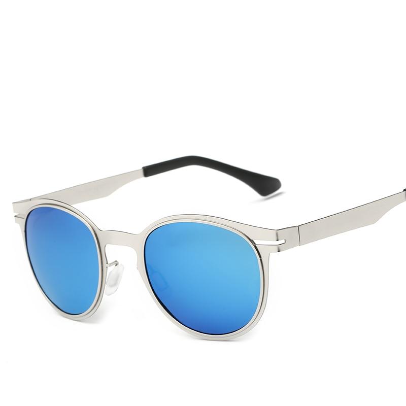Berühmte Polarisierte Frauen schwarzes Vintage Marke Sonnenbrille Frau Brille gold blau Oculos Frame Retro Blue wEZRZqA