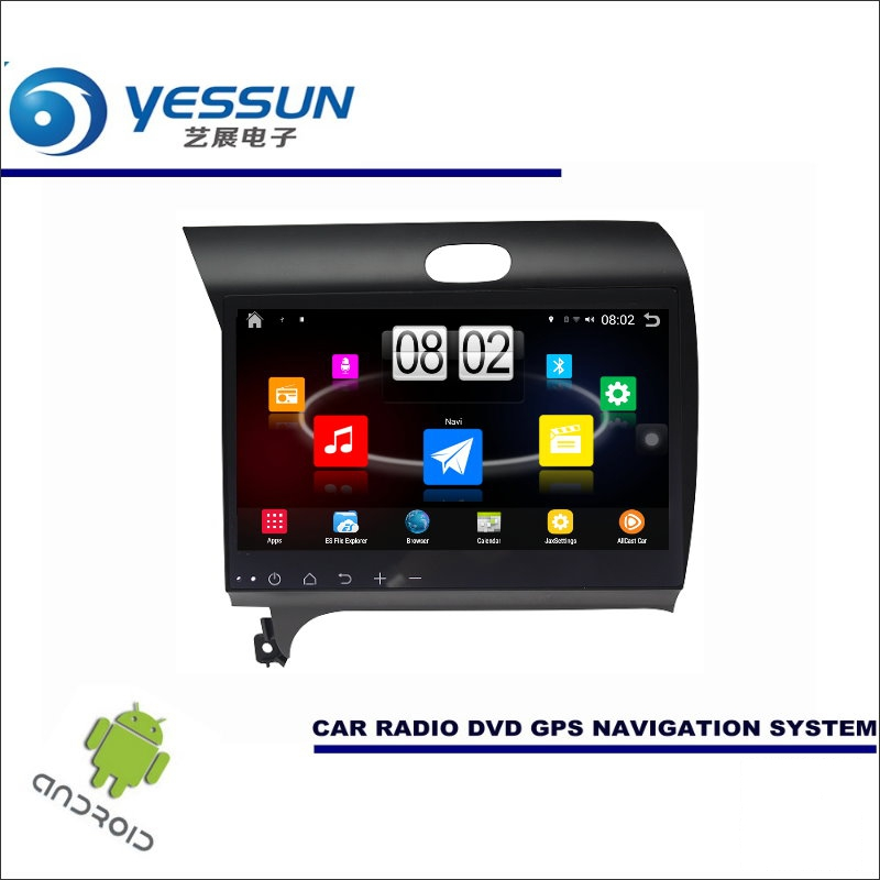 Yessun автомобиля Android мультимедийный плеер для KIA K3/Форте/CERATO/Shuma Радио стерео GPS nav Navi (без CD DVD) 10.1 HD Экран