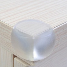10pcs/pack Child Safety Thickening Protection Corner Cover Baby Safe Silicone  Protector Table Corner Edge AG469