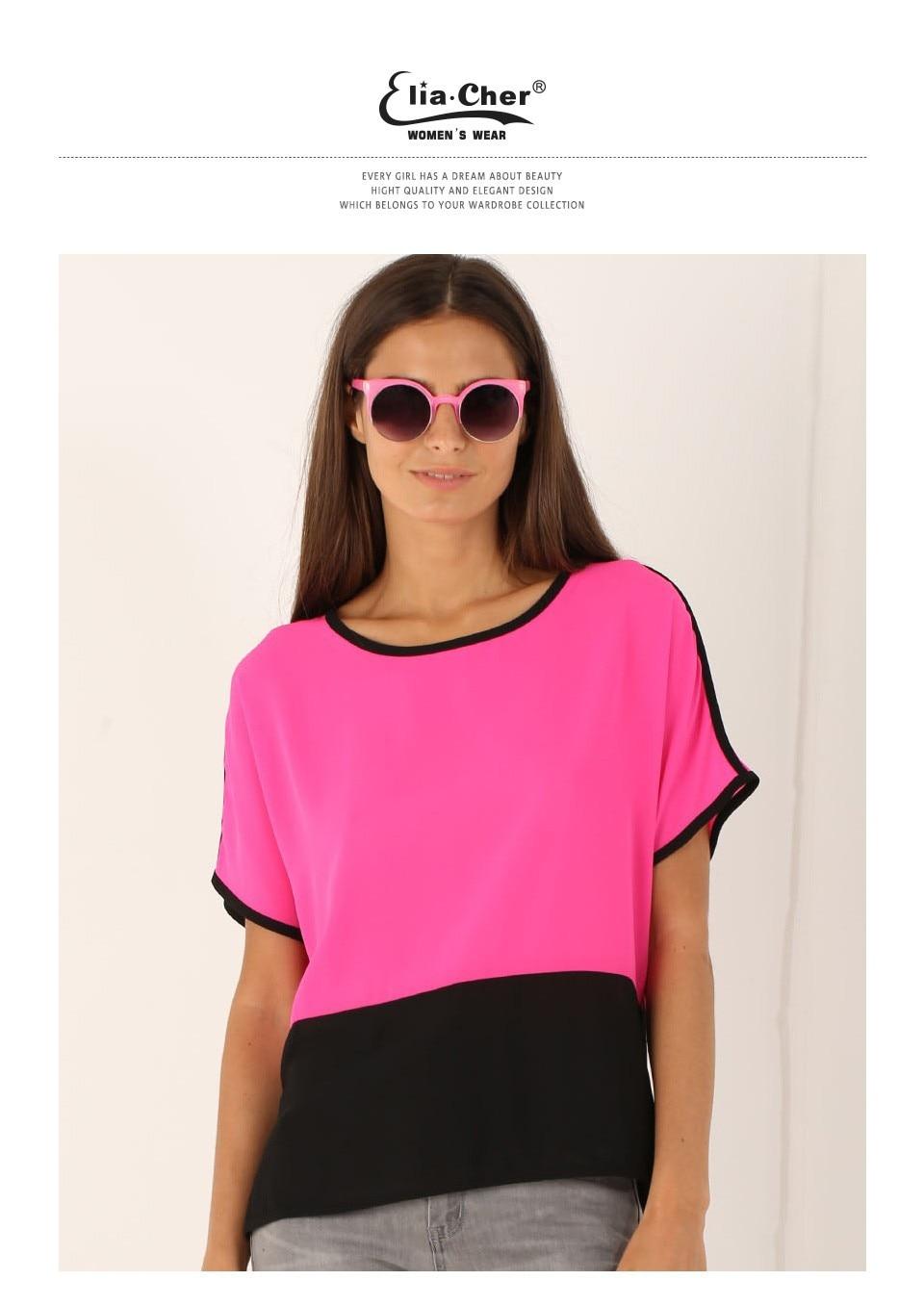 8a2edb16436cc Blouse Women Tops Women Blouse Eliacher Brand Plus Size Casual Women  pullovers Clothing Lady Shirts Blusas Women Top
