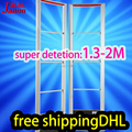 High sensitive EAS RF 8.2Mhz anti theft systemX2 1.3-2M detection DHL free shipping shoplifting system for ertail shop