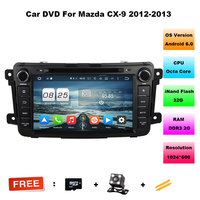 2GB RAM Octa Core 8 Android 6 0 Car Dvd Player For Mazda CX 9 CX
