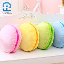 FURGERIN Decorative Pillows for Sleeping Cute Pillow Home Decoration Accessories Macaroon Shape bed pillow neck for kids(China)