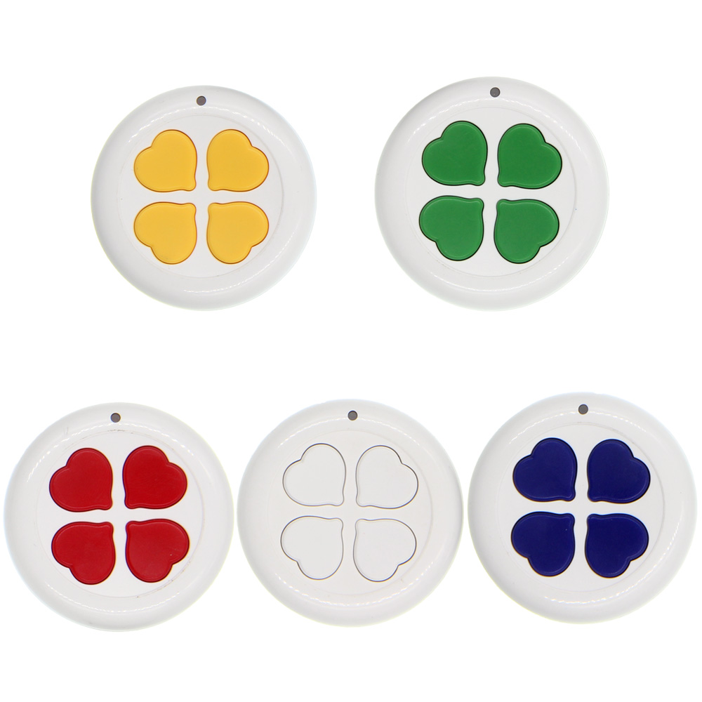 Colorful Keys Roundness Design 4 CH Channels 4CH RF Transmitter Wireless Remote Control,315 / 433 MHz EV1527Colorful Keys Roundness Design 4 CH Channels 4CH RF Transmitter Wireless Remote Control,315 / 433 MHz EV1527