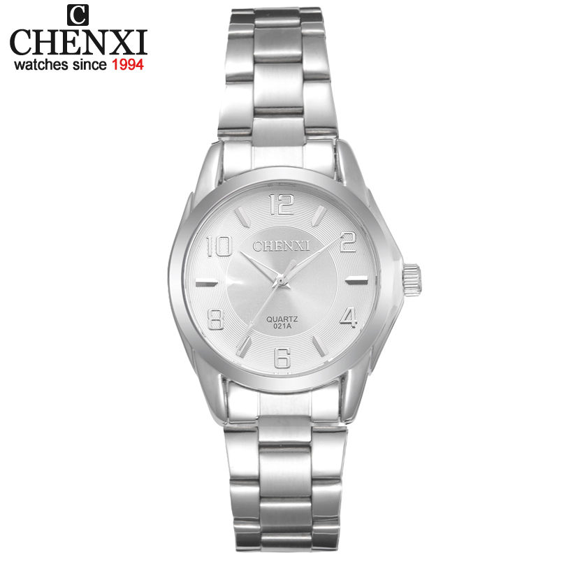 CHENXI Brand Relogio Feminino Gift Clocks Female Stainless Steel Watch Ladies Fashion Casual Watch Quartz Wrist Women Watches