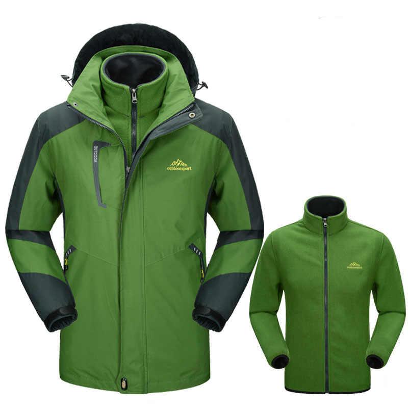 5xl الرجال سوفتشيل الشتاء سميكة الذكور في داخل الصوف المعاطف سترة يندبروف ماء الحرارية التزلج التنزه التخييم