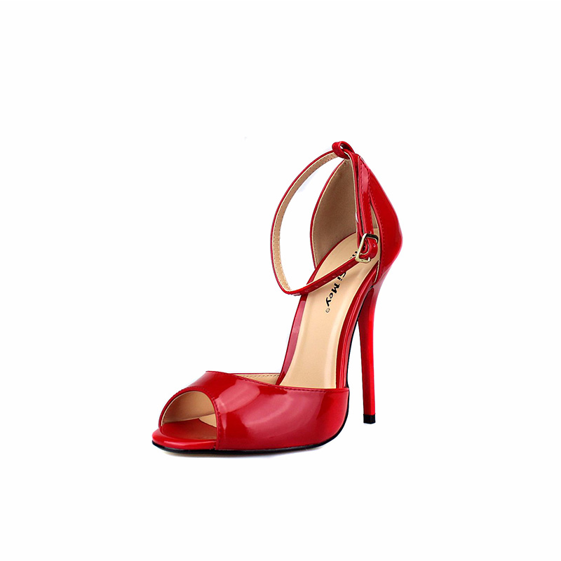 Talons Femmes Chaussures Doux Rouge Sangle Black Red Hauts Amovible 0OX8nPwk