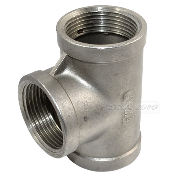 Brand new quot tee way threaded pipe fittings