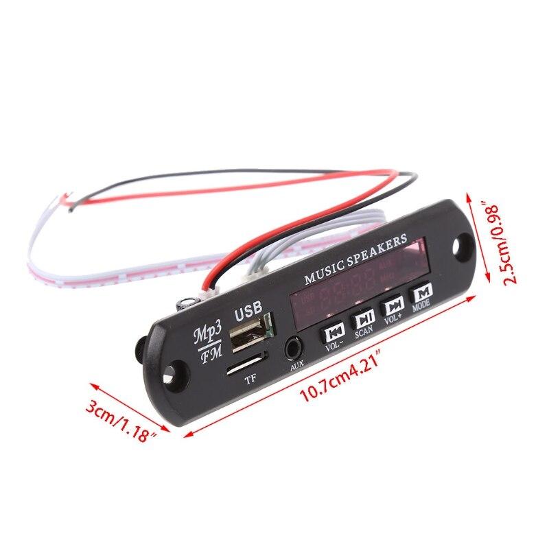 Image 2 - MP3 декодер доска Дистанционное Управление USB MP3 WAV MMC карты памяти FM Cut памяти-in Пульты ДУ from Автомобили и мотоциклы