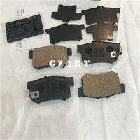 Brake pads for :HONDA ACCORD/LEGEND I Coupe/CIVIC/STREAM /CR Z /ODYSSEY /JAZZ III /INSIGHT /S2000 /CM4 Part No.:43022 SV4 A00