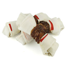Pet Cuisine Premium Dog Treats Snacks Training Food Chews Duck Wrap Knotted Bones Sz L 6.5″ 320g