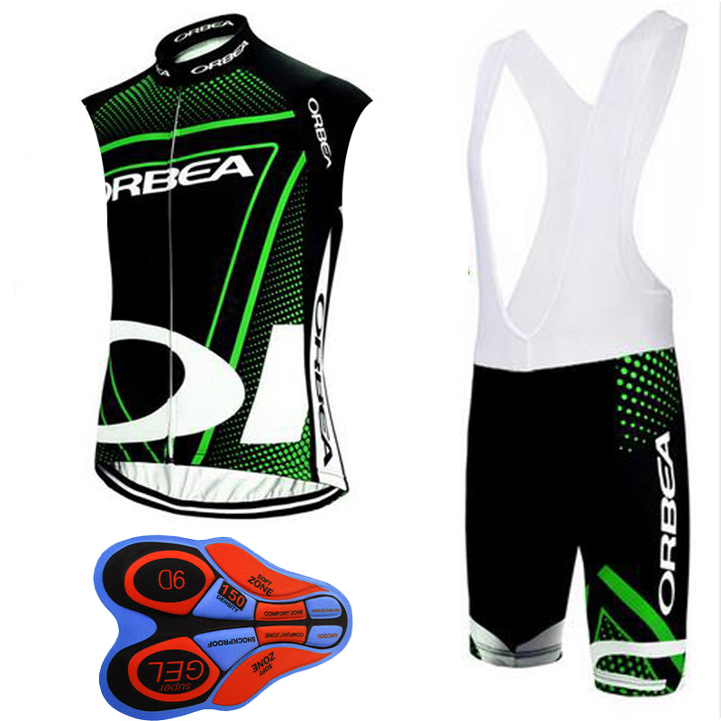 Ropa Ciclismo Breathable ORBEA Pro Team Cycling Jersey Sleeveless vest Set Bike Clothing Bicycle Clothes bicicleta Sport Wear A2 teleyi bike team racing cycling jersey spring long sleeve cycling clothing ropa ciclismo breathable bicycle clothes bike jersey