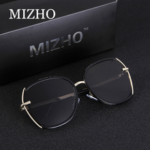 MIZHO Shine Driving Tinted Polarized Sunglasses For Women Party UVa Summer Fashion Transparent Design Female Sunglass HD Visual