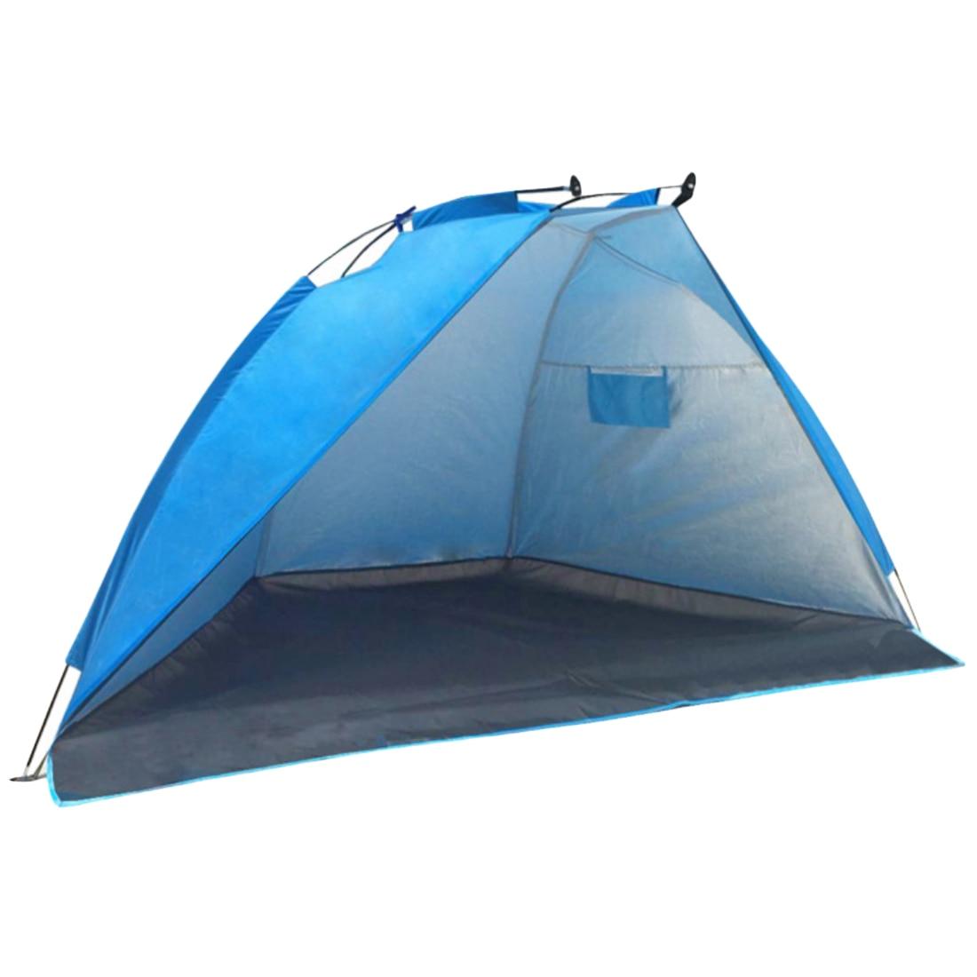 Camping en plein air Randonnée Tente Portable Tente De Plage Soleil Shielter Touristique Tente De Pêche Ombre Canopée dans Abri du soleil de Sports et loisirs