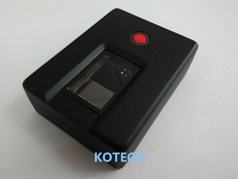 Livraison gratuite Windows Linux Android gratuit SDK Java biométrique d'empreintes digitales Scanner numérique Bluetooth lecteur d'empreintes digitales 1000 utilisateurs