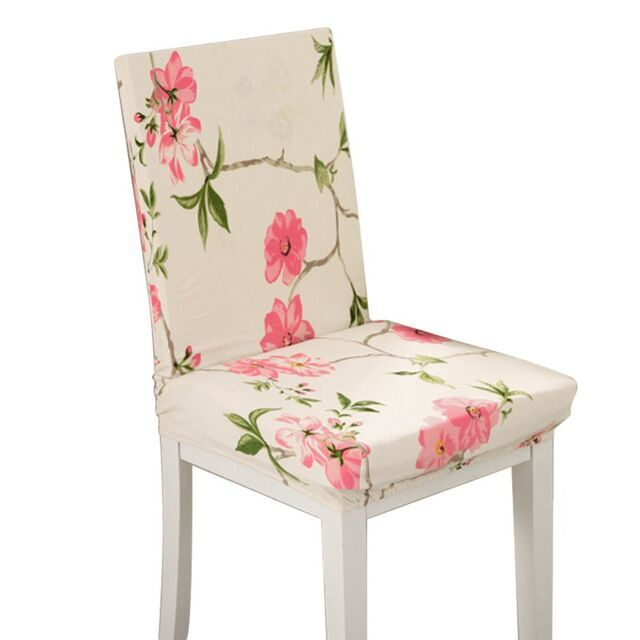 Universele Spandex stoel cover stretch restaurant stoel cover kantoor computer stoelhoezen stoelhoes eetkamer eetkamer stoel covers