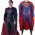Amanecer de Justicia Superman Superman Batman v Mono Body Catsuit de Zentai Traje Traje de Halloween comic-con traje de Cosplay